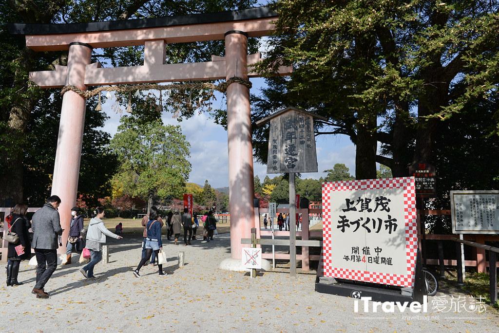 《京都市集即景》上贺茂神社手作市集:红叶环绕的生活集市