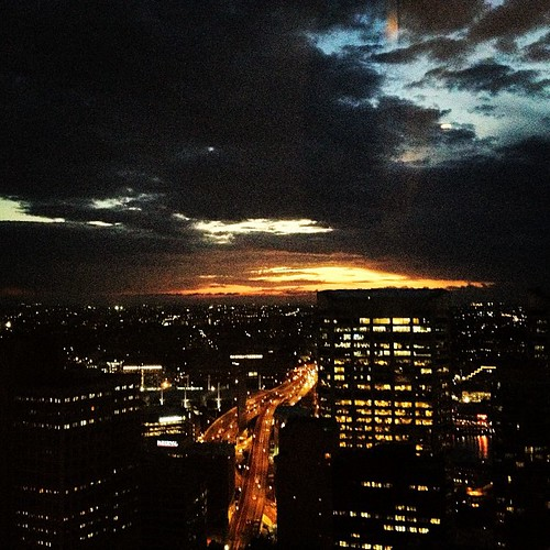#sydney #australia #night by @MySoDotCom