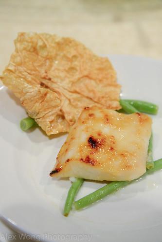 Tuna and Crispy Soybean Skin