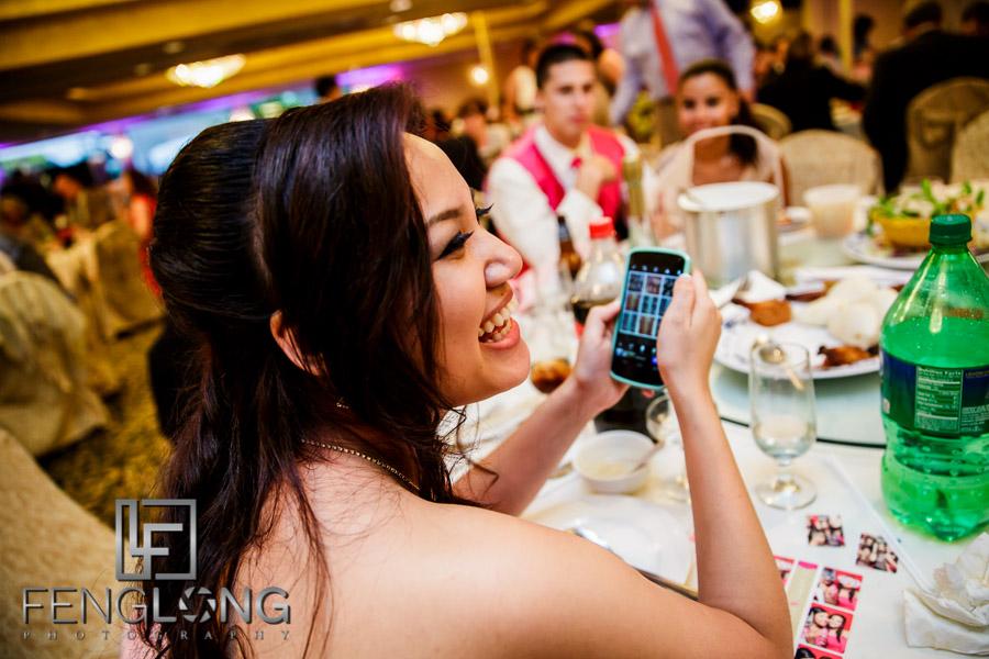 Wedding reception favors