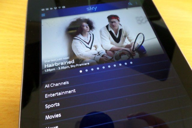 Sky Go Tablet for Android