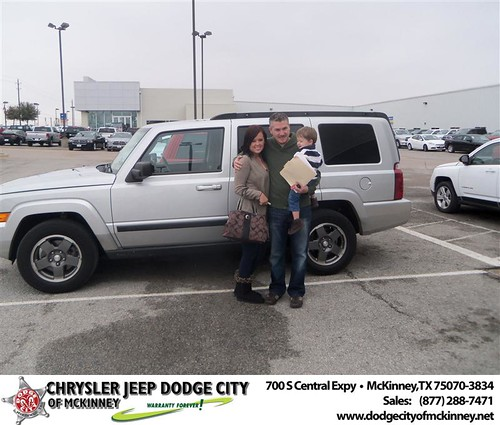 Happy Anniversary to Jeffrey Caton on your 2007 #Jeep #Commander from Joe Vasquez  and everyone at Dodge City of McKinney! #Anniversary by Dodge City McKinney Texas
