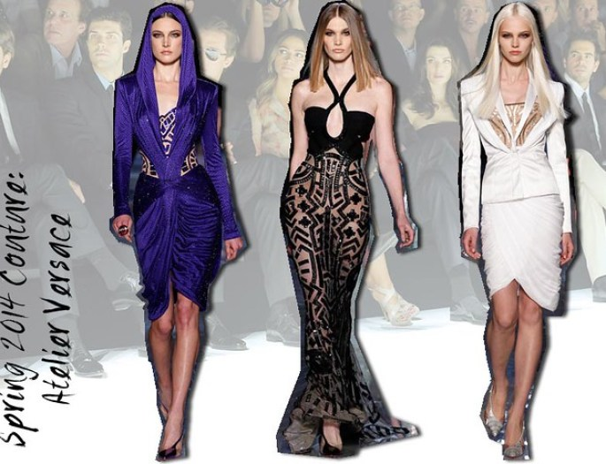 Spring 2014 Couture- Atelier Versace