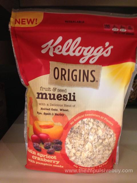 Kellogg's Origins Fruit & Seed Museli