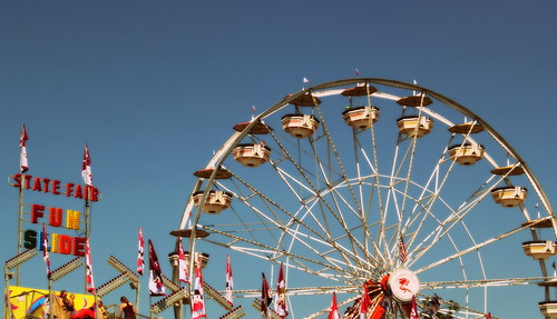20130810. Indiana State Fair. Ferris wheel.