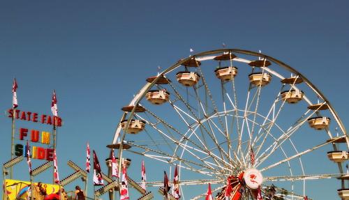 20130810. Indiana State Fair. Ferris wheel.