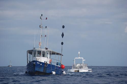 Huki Nui towing Atlantis XIV