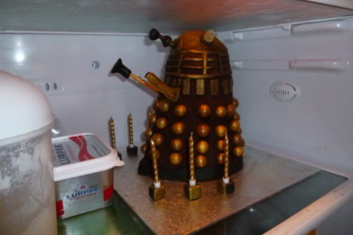 There's a Dalek in my fridge…