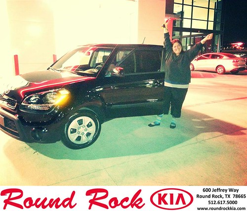 Thank you to Tabitha  Jones on your new 2013 #Kia #Soul from Kelly  Cameron and everyone at Round Rock Kia! #NewCar by RoundRockKia