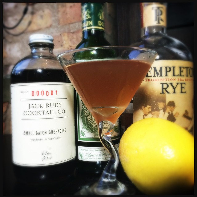 The Scofflaw Cocktail