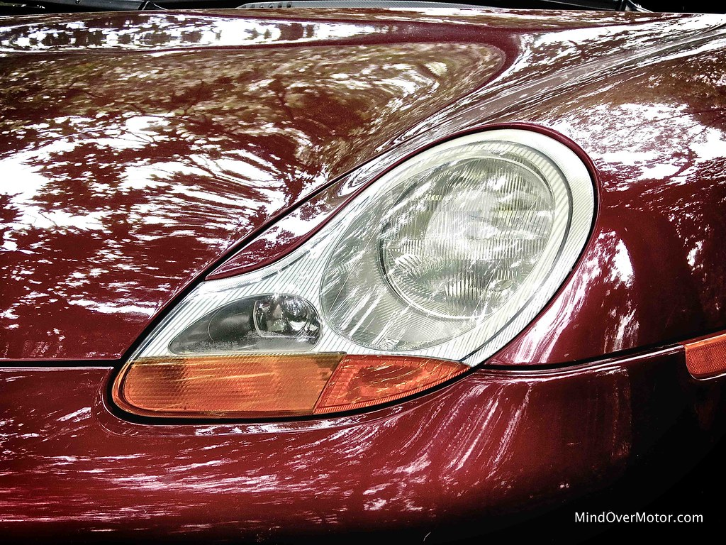 1999 Porsche 911 Carrera 996 lima bean headlights