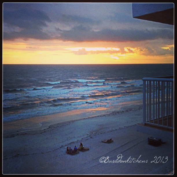 Sep 24 - inspires me {nature in all her moods} #photoaday #sunset #beach #florida