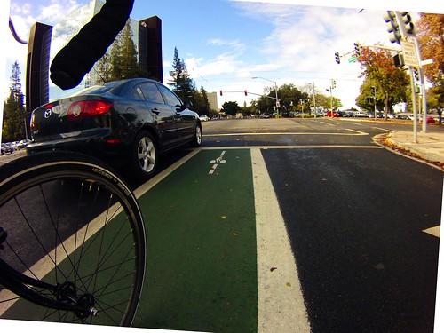 Scenes from Hedding Street bikeway San Jose