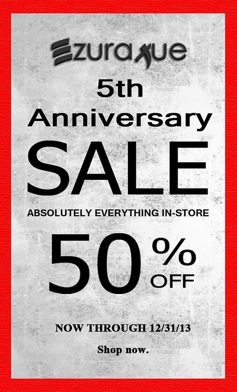 ezura Xue + 5th Anniversary Sale