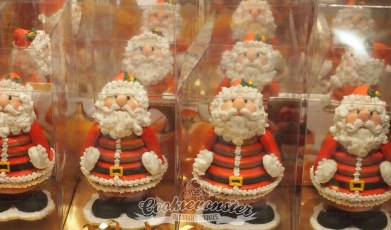 ©Cookievonster 3D Gingerbread Santa