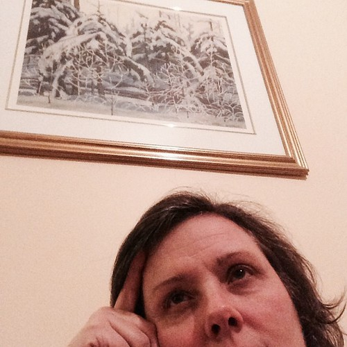 Print or window? #winter #365feministselfie