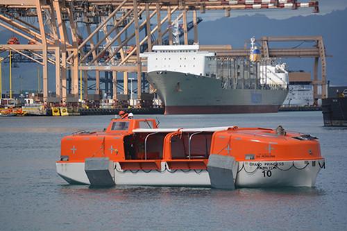 Grand Princess lifeboat 10
