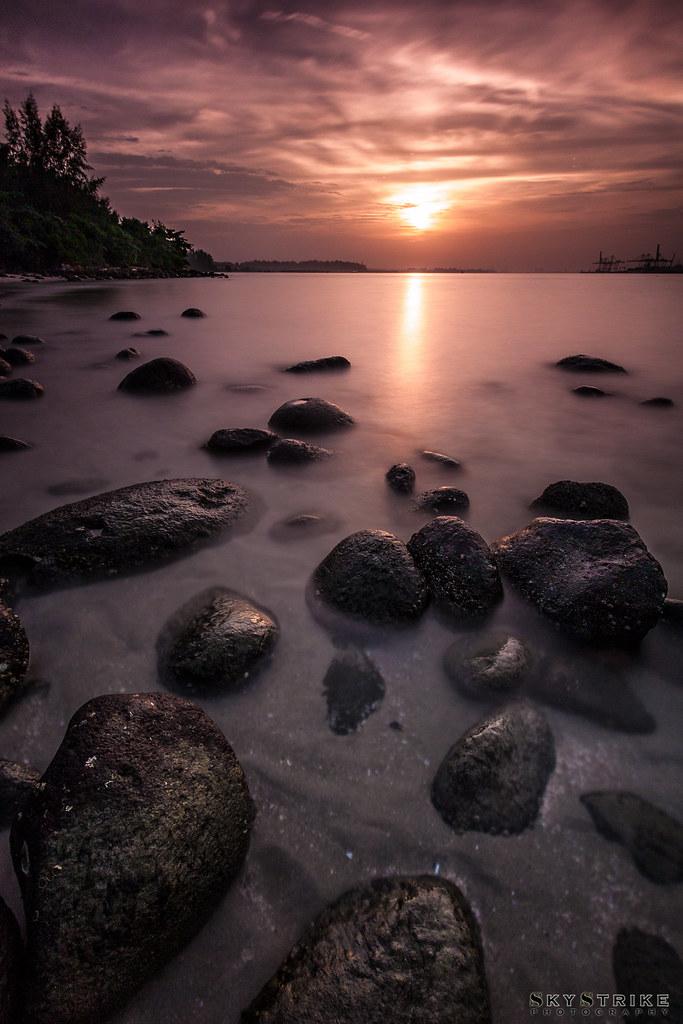 Sunset @ Punggol Beach