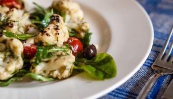 Ottolenghi's grilled cauliflower salad