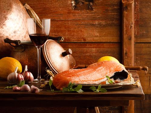 Salmon by Luiz L.