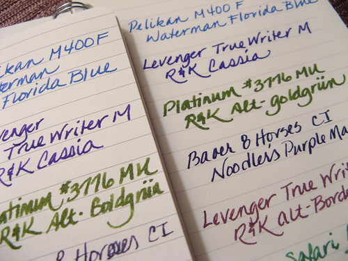 Moleskine and Greenroom Pages