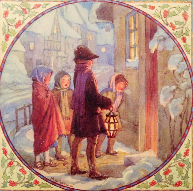 Margaret Tarrant Christmas Card Carol Singers Flickr