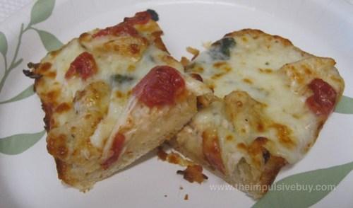 Domino's Sandwich Slice Garden Garlic Chicken Halves