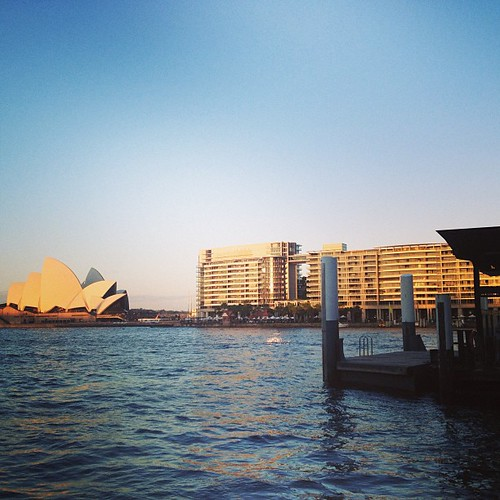 Looking across Circle Quay #sydney #australia by @MySoDotCom