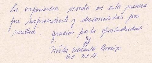 Nestor Eduardo Carrizo alumno Escuela N.17 de Fiambala, Catamarca.