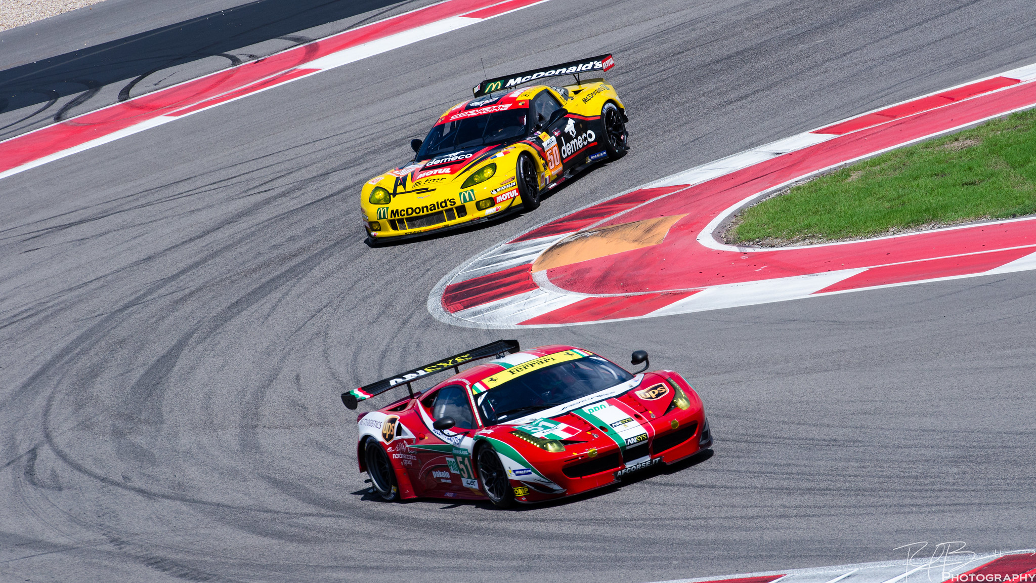 Labre Competition C6.R and AF Corse Ferrari 458