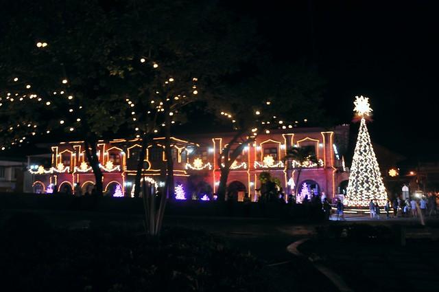 The Laoag City Hall. Christmas 2013
