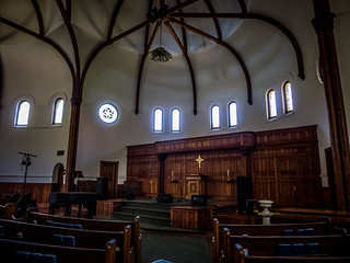 Circular Congregation Church Interior