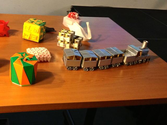 Kawasaki origami