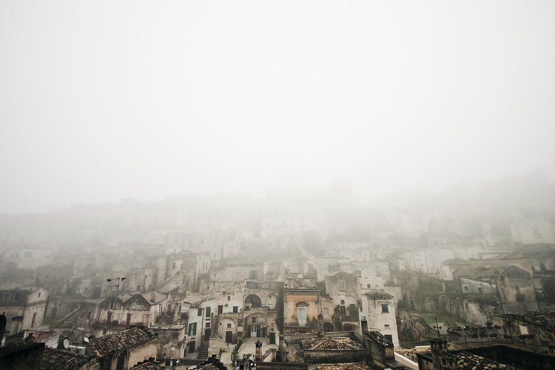 Matera in the Fog by Neon Anomaly Photography