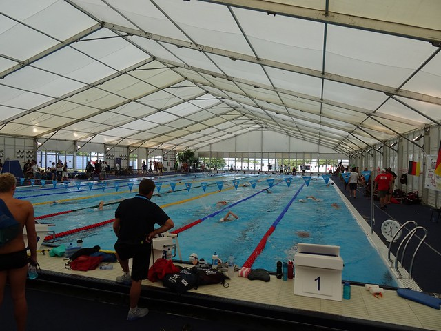 The BCN 2013 Warm-up pool