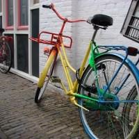 Rainbow Brite Bike