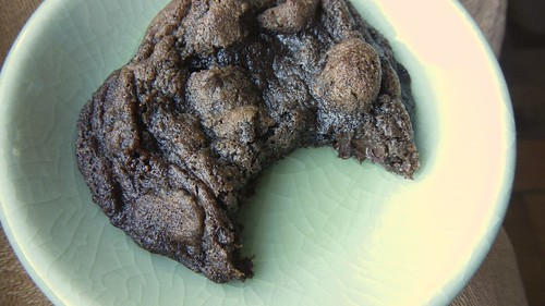 Double Chocolate Cran-Orange Cookies 14