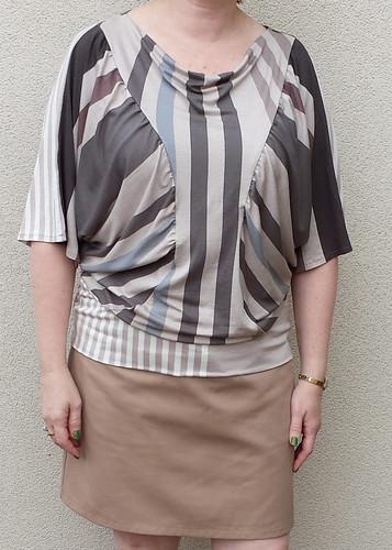 Lekala blouson 5811 with Vogue 1247 skirt