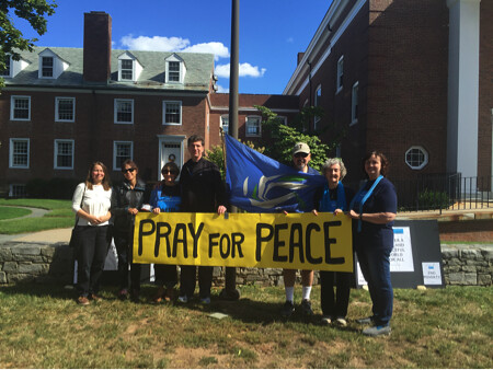 West Hartford, CT  Labyrinth for Peace CNV 2016 (2)