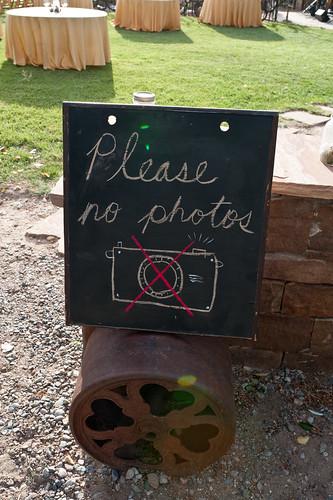 Please no photos