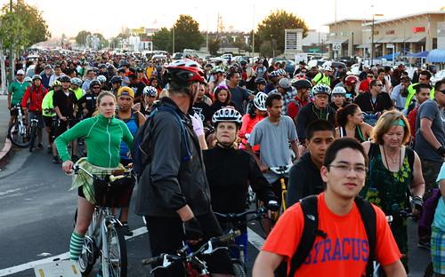 San Jose Bike Party No Pants Ride July 2013