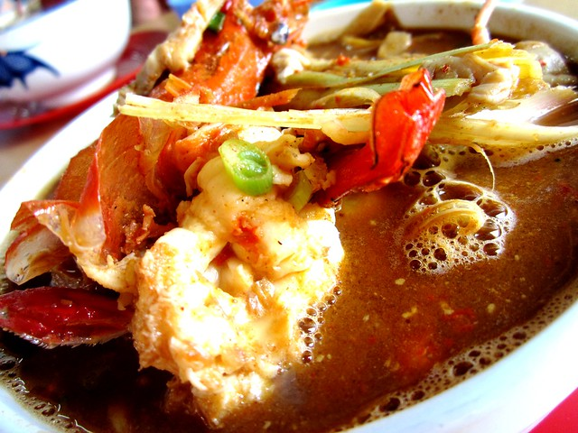 Sarikei tom yam prawn noodles 2