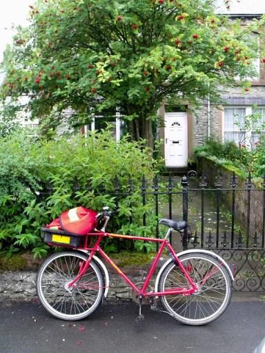 Postman's bike