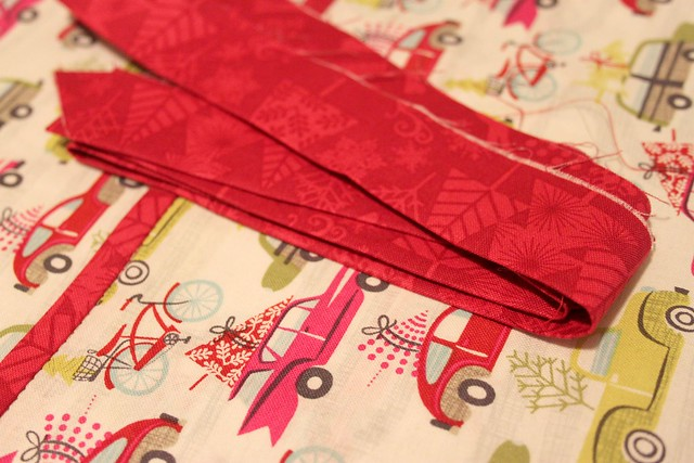 step 12 -- finish with binding