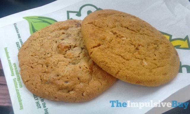 Subway Pumpkin Spice and Apple Pie Cookies