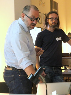 Rafi Haladjian, sen.se et Marc Chareyron, 23 de Enero