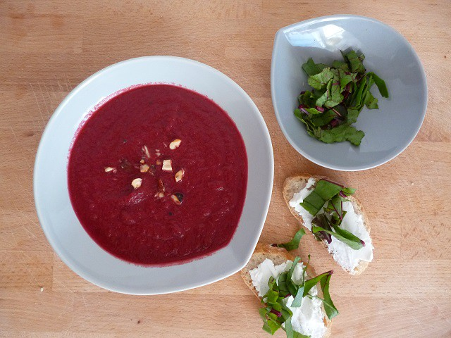 Rote Beetesuppe_