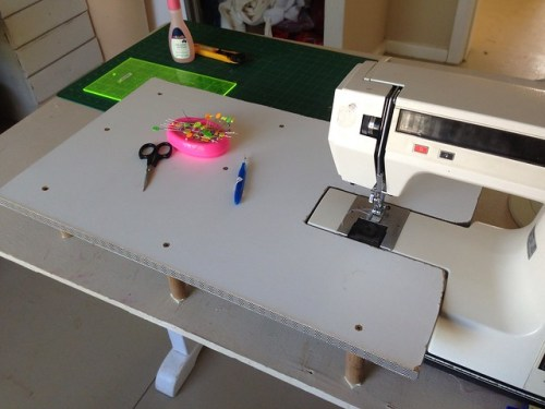 Make your own sewing extension table for Design my own home extension