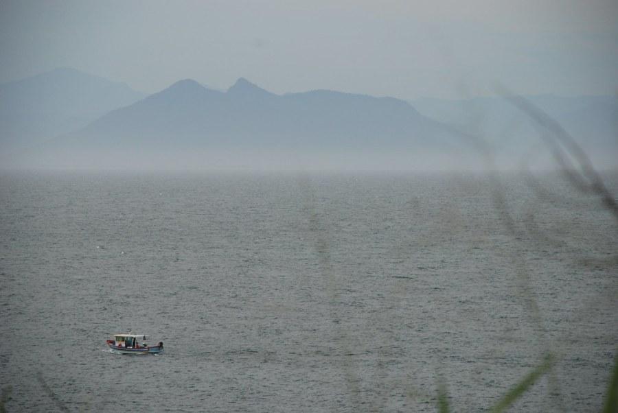 Barco en Buzios - Montaña