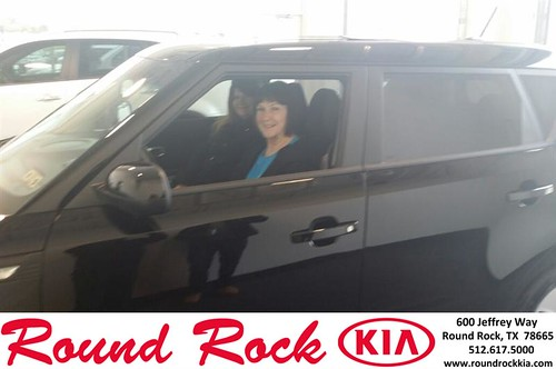Thank you to Rhonda Bird on your new 2014 #Kia #Soul from Roberto Nieto and everyone at Round Rock Kia! #NewCar by RoundRockKia